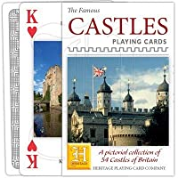 Heritage Playing Cards - English Castles Playing Cards