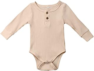 Baby show gift Baby Girl Clothes, 8 Colors 0-3 Months Baby Girl Clothes, Long Sleeve Cotton One-piece Baby Clothes Girl for Four Seasons birthday party Best shower gift