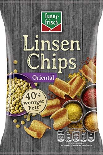 funny-frisch Linsen Chips Oriental, 12er Pack (12 x 90 g)