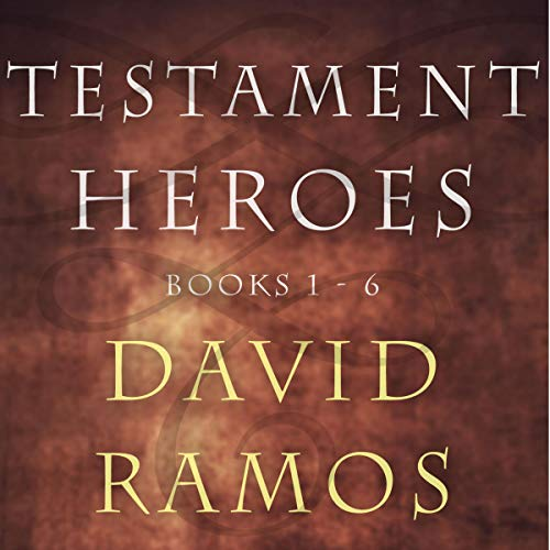 Testament Heroes audiobook cover art