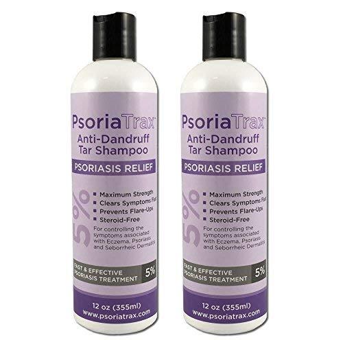 Coal Tar Psoriasis Shampoo Psoriatrax 25% Coal Tar Solution Two 12oz Bottles- Psoriasis - Equivalent...