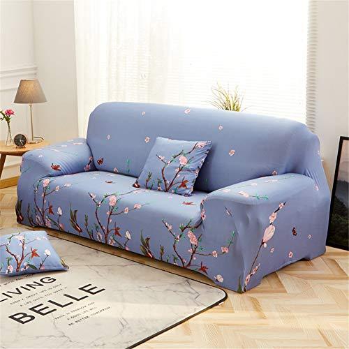 PPDD Alles-in-één-slipbankhoes, verdikke, elastische sofa, gewatteerd, comfortabele sofa-sprei, met armleuningen, L-vorm, hoekbank etc.