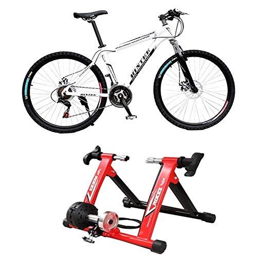 NNZZY Cavalletto Magnetico per Bicicletta Allenatore per Biciclette da Interno Allenatore A Rulli per Bicicletta per Allenamento Ciclistico A Casa