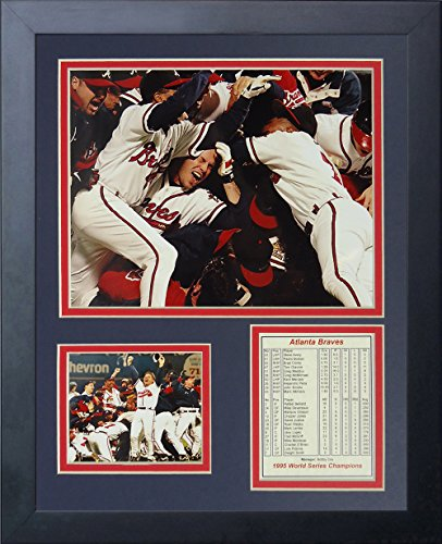 Brian McCann Atlanta Braves MLB Framed 8x10 Photograph 2009 Batting