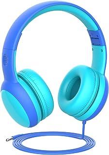 comprar comparacion Gorsun Auriculares para niños, Volumen Limitado en el oído Auriculares para niños con Conector de Audio de 3.5 mm para niñ...
