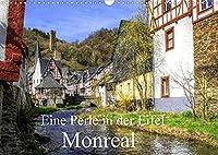 Eine Perle in der Eifel - Monreal (Wandkalender 2022 DIN A3 quer): Monreal gehoert zu den schoensten Orten der Eifel (Monatskalender, 14 Seiten )