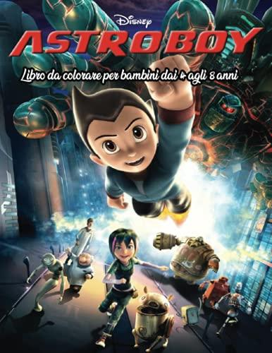 Astro Boy libro da colorare