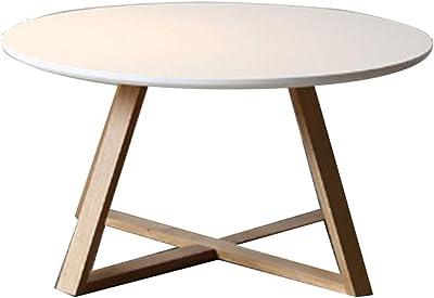 Coffee Table, Stylish Coffee Table Wooden Oak Legs Living Room Nordic Minimalist Creative Coffee Table,Black