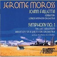 Jerome Moross: Symphony No. 1
