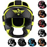 Elite Sports Boxing MMA Sparring Kickboxing Headgear for...