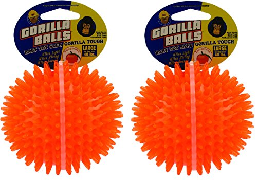 (2 Pack) PetSport Gorilla Balls, Large