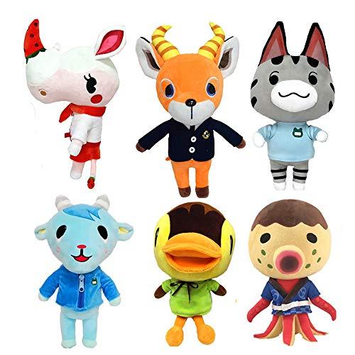 Spiele Animal Crossing Plüsch Süße Puppe Gefülltes Plüschtier Geschenk Neue Horizonte Lolly/Molly/Sherb/Zucker/Beau/Merengue Puppe Cartoon Plüschtier