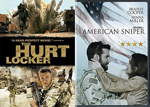 American Heroes In The Desert Collection: American Sniper & The Hurt Locker (Double Feature Film 2 DVD Bundle