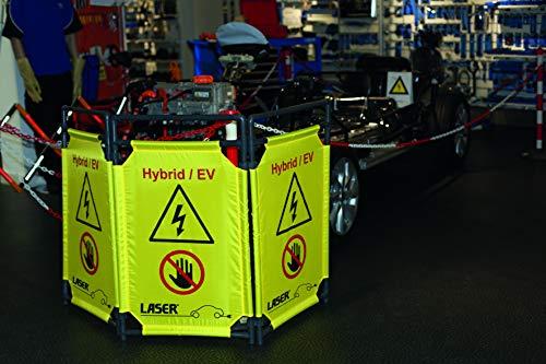 Laser 8000 Barrera de Seguridad Plegable - Híbrido/EV