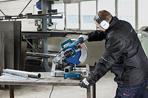 Bosch Professional 0601B28000 Tronçonneuse à Lame Carbure GCD 12 JL (Régime à Vide de 1 500 tr/min, Poids de 20,0 kg, Lame de Scie Circulaire pour Acier) Bleu
