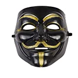 Rock 990204 Anonymous Guy Fawkes Mask, Unisex-Adult, One Size