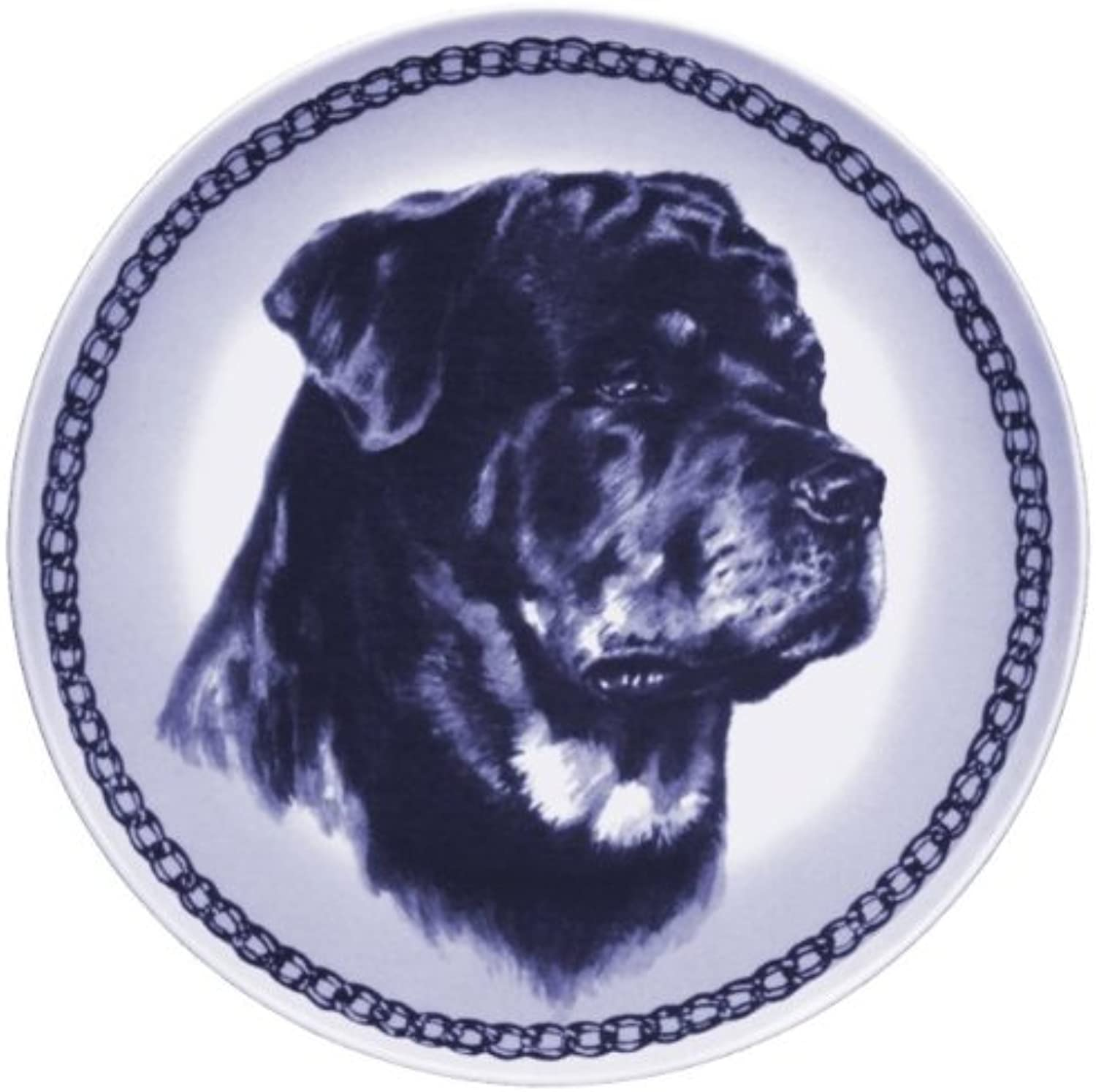 redtweiler Lekven Design Dog Plate 19.5 cm  7.61 inches Made in Denmark NEW with certificate of origin PLATE  7513