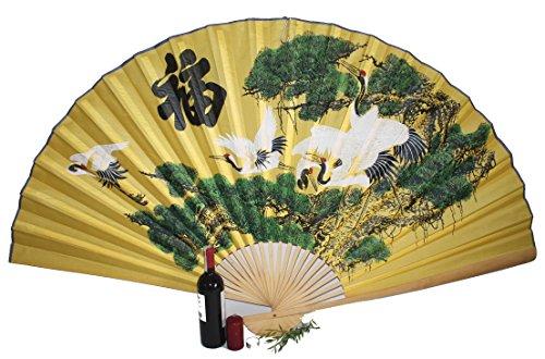 AAF Nommel®, Großer Dekofächer 051 aus Papier und Bambus, Geöffnet ca 160 cm breit!