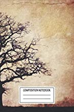 Composition Notebook: Landscapes One Tree Landscapes Wide Ruled Note Book, Diary, Planner, Journal for Writing
