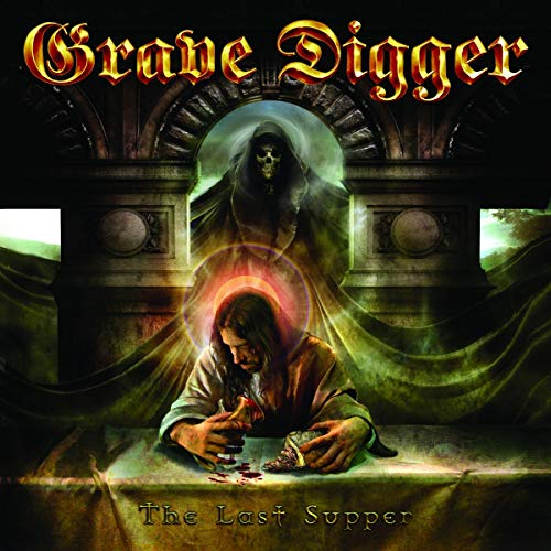 Grave Digger: The Last Supper (Transparent Red Lp) [Vinyl LP] (Vinyl)