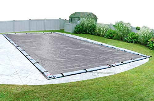 of mesh pool covers Pool Mate 522040R Extreme-Mesh Winter In-Ground Pool Cover, 20 x 40-ft, 7. XL Silver