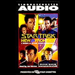 Star Trek, New Frontier audiobook cover art