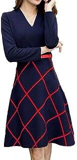 プラチナ リバティー[Platinum Liberty]フォーマル ワンピース ドレス シンプル Aライン チェック 切替