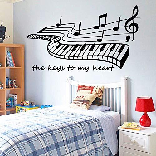 Music Wall Stickers self-Adhesive Art Wallpaper Wall Decoration Art