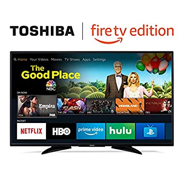 Toshiba 55-inch 4K Ultra HD Smart LED TV with HDR - Fire TV Edition
