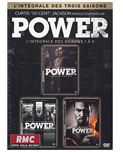 Power: completar as tempadas do 1 ao 3 [DVD + copia dixital]