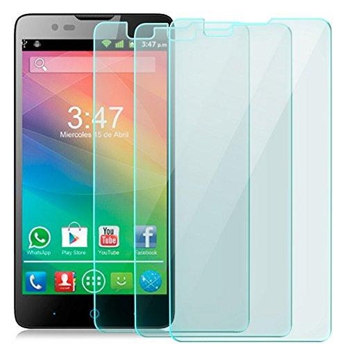 zanasta 3X Bildschirmschutz Folie kompatibel mit Huawei ZTE Blade L3 Plus Bildschirmschutzfolie aus gehärtetem Glas Schutzglas Glasfolie Schutzfolie | HD Klar Transparent