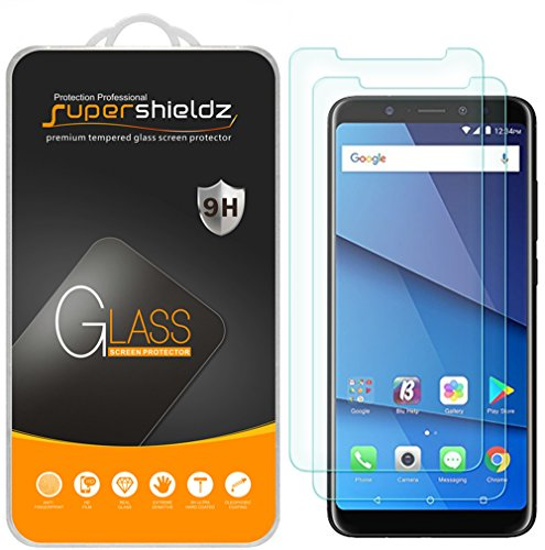 (2 Pack) Supershieldz Designed for BLU (Vivo XL3 Plus) Tempered Glass Screen Protector, Anti Scratch, Bubble Free