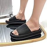Diapositivas de Almohada, Zapatillas Ultra Suaves Zapatos de Nube Extra Suave Antideslizante, Baño para Mujer Calzado Resuelto Grueso Antideslizante para Playa al Aire Libre