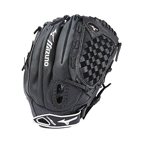 Mizuno Prospect Fastpitch Softball GPL1200F2 Utility 312589 Gloves, Size 12, Black