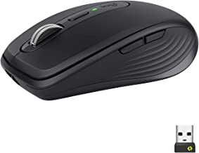 Logitech MX Anywhere 3 Compact Performance Mouse for Business – Wireless, Ultrafast Scrolling, Any Surface Tracking, Recha...