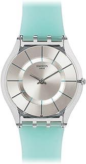 Swatch Unisex Analogue Quartz Watch with Silicone Bracelet - SFK397