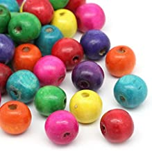 Best color wood beads Reviews