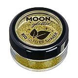 Biologisch abbaubarer Öko-Glitter von Moon Glitter - 100% kosmetischer Bio-Glitter für Gesicht, Körper, Nägel, Haare und Lippen
