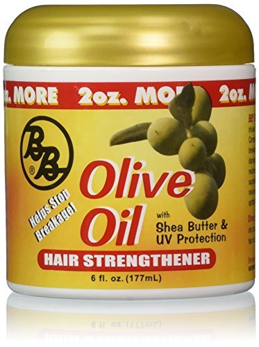 Bronner Brothers Olive Oil Hair Strengthener, 6 Ounce by Bronner Brothers