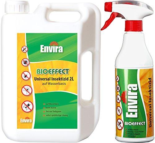 Envira BIOEFFECT gegen Insekten 2Ltr+500ml