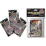 遊戯王OCG デュエルモンスターズ ストラクチャーデッキ サイバー流の後継者3個 デュエリストカードプロテクター 鎧皇竜-サイバー ダーク エンド ドラゴン スリーブ1個