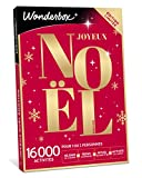 Wonderbox - Coffret cadeau noël - JOYEUX NOEL Emotion – 8820 séjours, repas, soins détente ou loisir