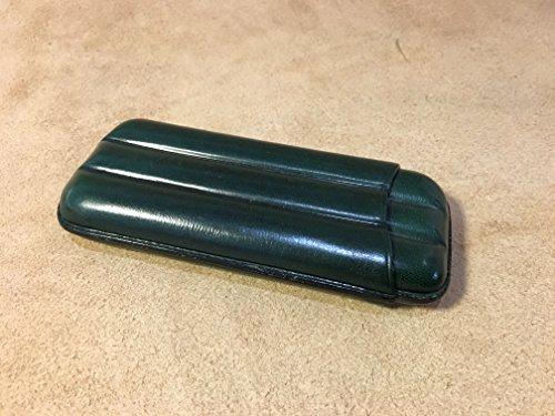 Puera de Piel / 100% piel / Hecho a mano en Ubrique / Verde Oscuro ref. 26