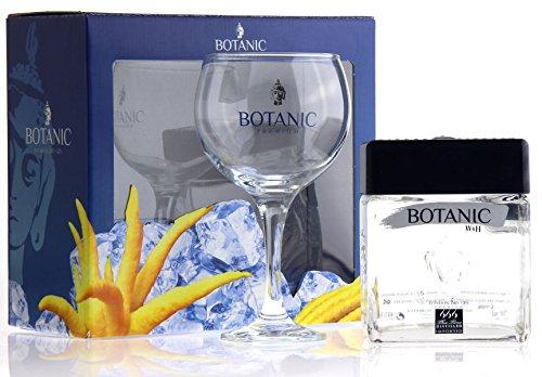 Botanic Ultra Premium London Dry Gin mit Geschenkverpackung mit Glas  (1 x 0.7 l)