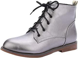 KemeKiss Women Causal Autumn Short Boots Comfortable Flat
