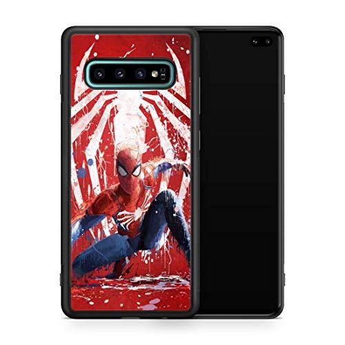 Inspired by Spider-man Samsung Galaxy S8 S9 Plus S10 S10e S10 Plus Case Spiderman Comics Super hero Galaxy Case Spider man Logo M91