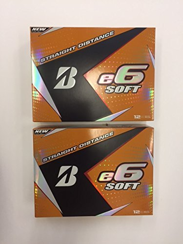 Lowest Prices! Bridgestone e6 Soft, White, 2-Dozen Special, 24-Balls
