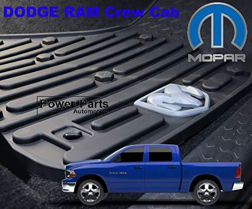 Mopar OE Premium Gummi Fußmatten Set vorne Crew Cab 09-18