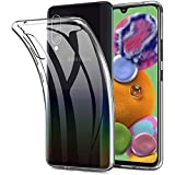 Verco Handyhülle für Samsung A90 5G Hülle, Handy Cover für Samsung Galaxy A90 5G Hülle Transparent Dünn Klar Silikon, durchsichtig