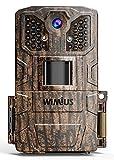 WiMiUS H6 Fototrappola 16MP 1080P Fotocamera da Caccia con Visione Notturna, 0.5s Trigger Speed Fino a 20m e Impermeabile IP66, Ideale per Animali Selvatici, Caccia e Sicurezza Domestica
